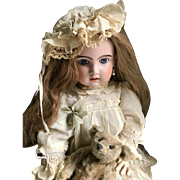 **Incredible 30 inch Antique Francais Jumeau doll Open Mouth Nr 13**