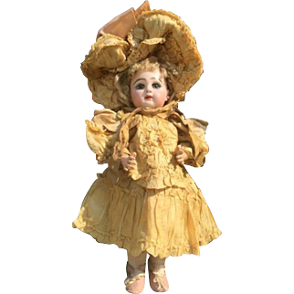 Early Rare Closet Mouth Tete Jumeau Doll 1885