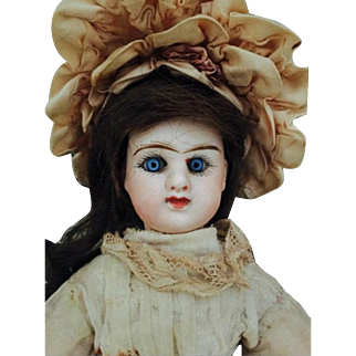 Early Rare Small Etienne Denamur Doll