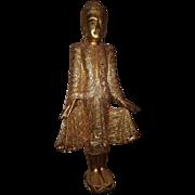Wooden Mandalay Buddha