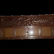 Oak wood Wall Cabinet