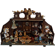 Antique Sewing Workplace - Dollhouse