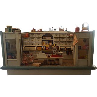 German Gottschalk Grocery Store Doll House - Gott