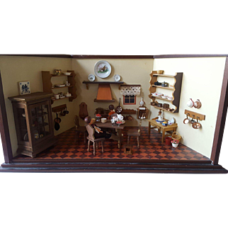 German Doll House Kitchen