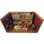 Dollhouse German Grocery Store