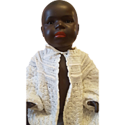 "22"" Rare Black Germany  Doll Koppelsdorf Heubach 399"