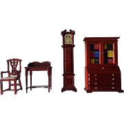 Doll house furniture wooden