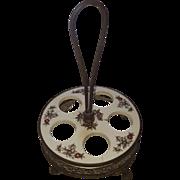 Antique Dutch Egg Cup Holder