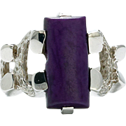 The promise of love. 14k/Sugilite Ring