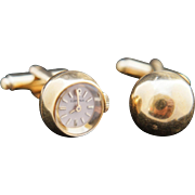 Ticque tocque. BLANCPAIN 18k Cuff Links