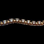 Loves me, loves me… more. 14k Rose Gold Quartz Bracelet
