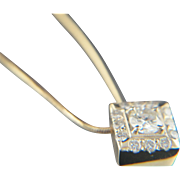 Well expressed. 14k Diamond Pendant Necklace