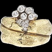 Upper crust - SeidenGang 18k Diamond Ring