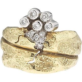 Upper crust - SeidenGang 18k Diamond Ring