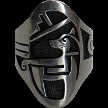 Hopi Silver Native American Sterling Ring