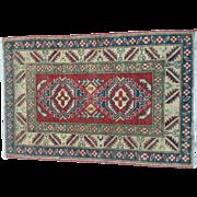 Oriental Rug Kazak Handknotted