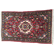 Hand Knotted Persian Hamadan Rug