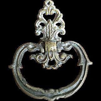Antique Brass Drawer Cabinet Pull