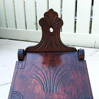 Antique Mahogany Coffee Wall Box 1909