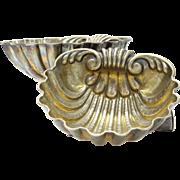 Pair of Missiaglia Silver Sea Shell Bowls