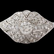 Art Deco Unique Diamond Engagement Ring | Allison