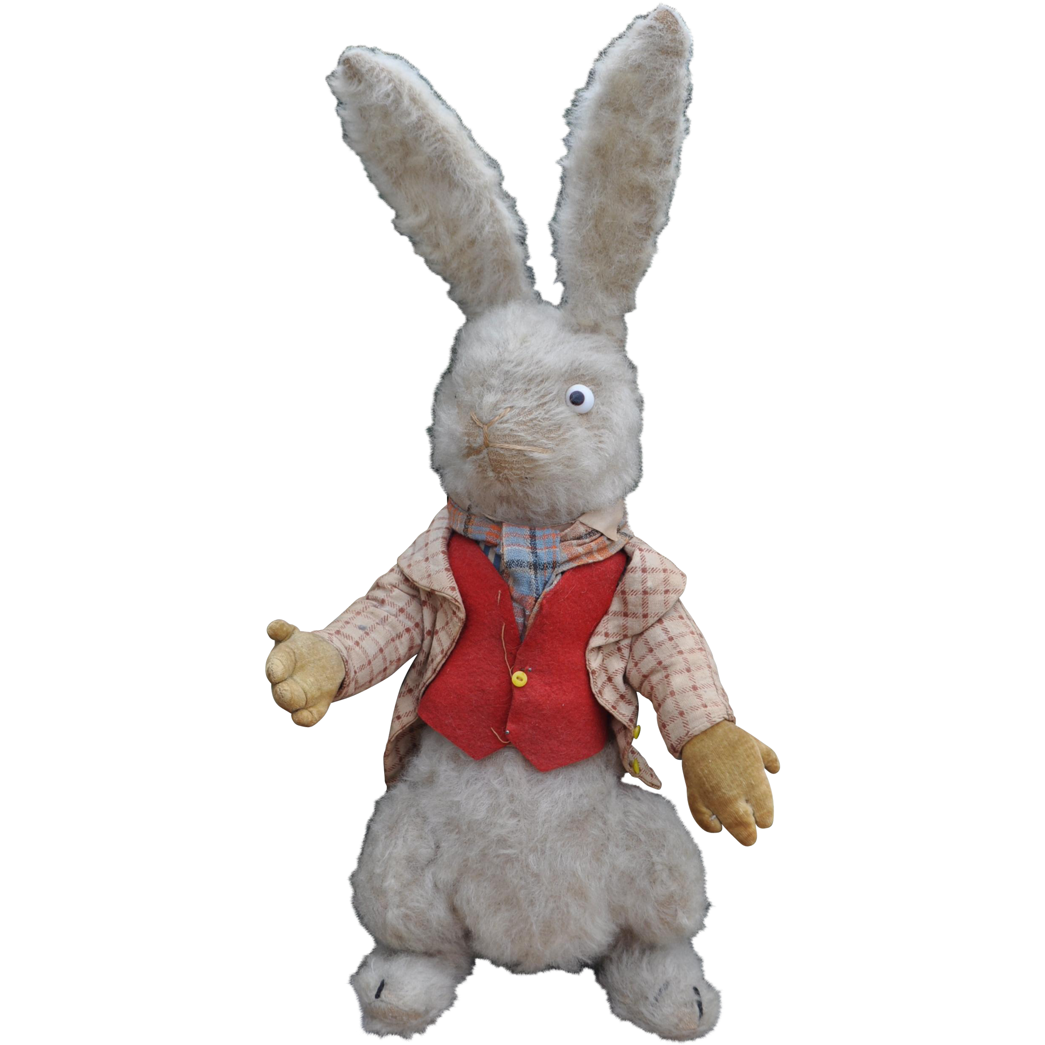 Toys Easter Magazine : A very rare dean s rag book co white rabbit from alice in