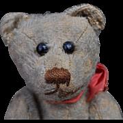 A rare early teddy bear, British or American, circa 1910