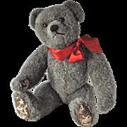Rare Farnell grey wool plush teddy bear