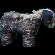 Rare ISA Toys British dog with wonderful metal label