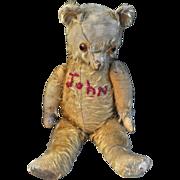 'John', a most charming Pedigree teddy bear, 1950s