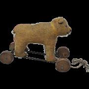 A rare British Omega bear on wheels 1920s