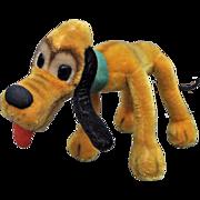 Rare Schuco mohair bigo-belo mohair Pluto soft toy, 1950s