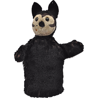 A rare Steiff Punch Felix the cat hand puppet, 1925-26