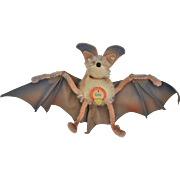 Rare vintage Steiff Eric the Bat, 1950s