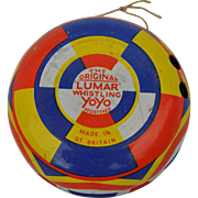 The Original Lumar Whistling YoYo, British tinplate