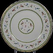 BERNARDAUD ARTOIS GREEN Dinner Plate