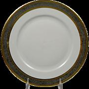 BERNARDAUD Limoges Vulcain Lunchon Plate