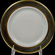 BERNARDAUD Limoges Vulcain Dessert Plate