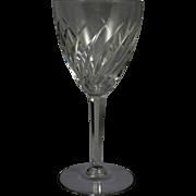 VAL ST LAMBERT Crystal Gevaert Arlene Water Gobler