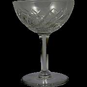 VAL ST LAMBERT Crystal Gevaert Arlene Sherbet Champagne Glass