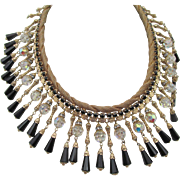 Vintage Alice Caviness Bib Necklace
