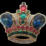 Trifari Royal Crown Brooch Alfred Philippe 1944 Design