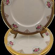Antique Lenox The Mount Vernon Set of Four Dinner Plates