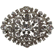 Made in Austria Crystal Rhinestone Brooch