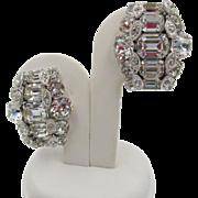 Sparkling Crystal Eisenberg Rhinestone Earrings