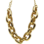 Chunky Chain Link Kenneth J Lane Statement Necklace