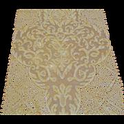 Exquisite Italian Ecru Handmade Combination Lace Runner