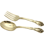 Vintage Alvin Sterling SIlver Baby Set - Youth Fork and Spoon