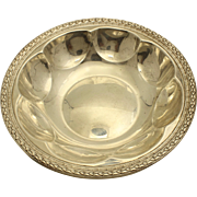 Fisher Sterling SIlver Scalloped Bon Bon Dish - Early 20th Century