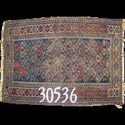 Persian handmade Baluch Rug, approx. 2'-1X3'-0